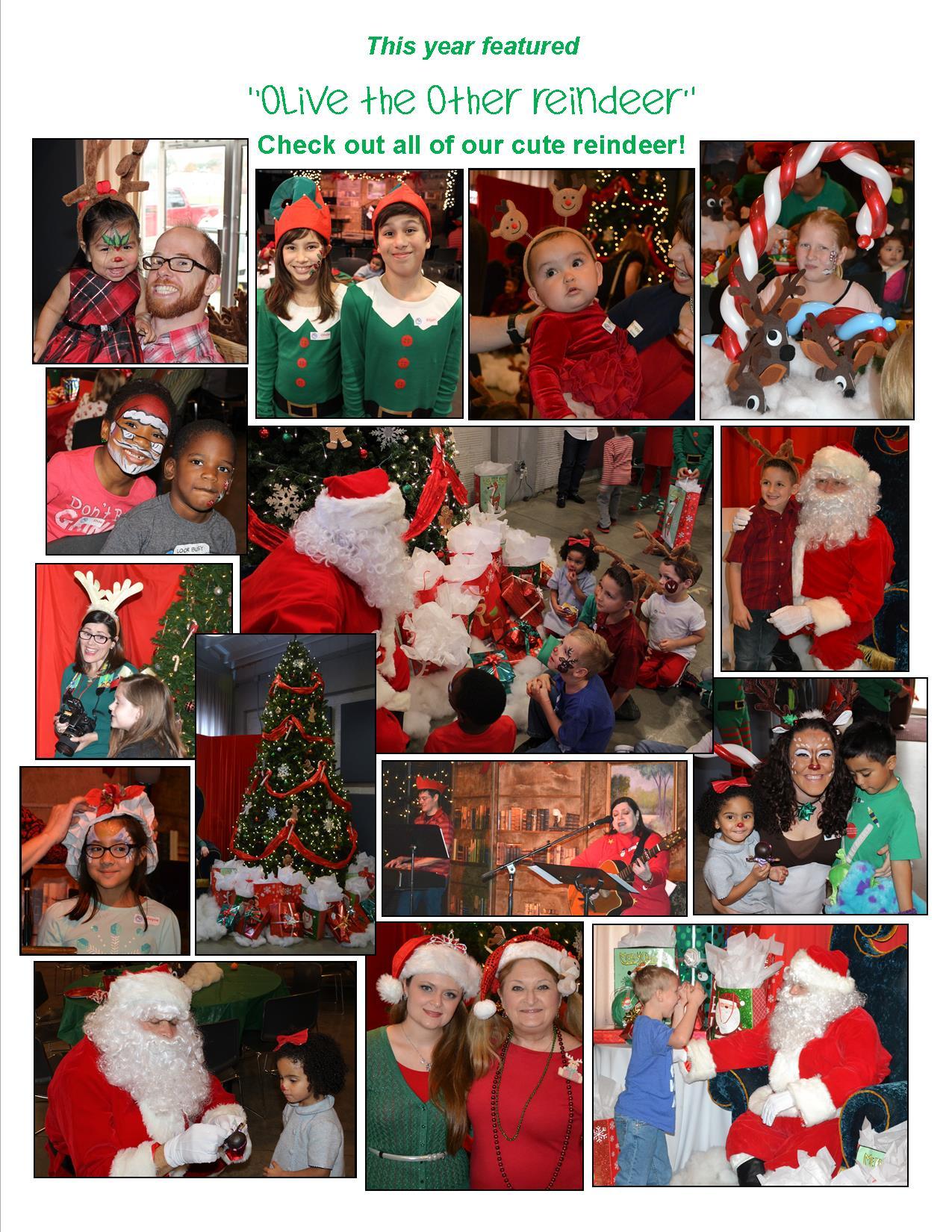 2014 Christmas thank you page - back