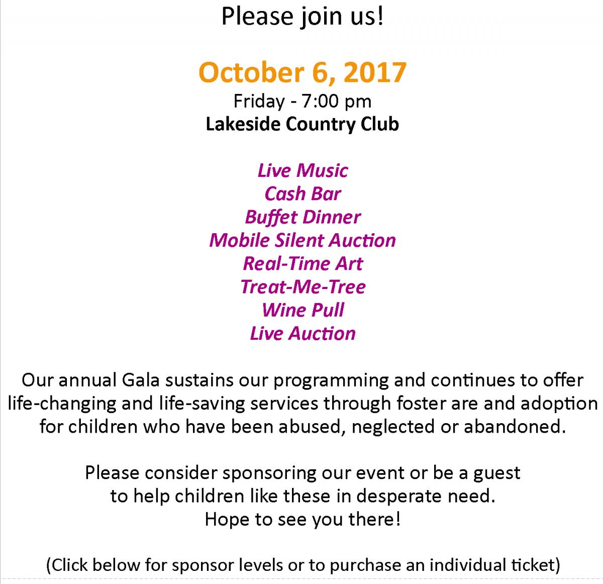 2017 Gala website Reg Info